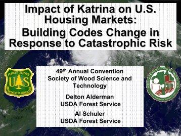 Impact of Katrina on US Housing Markets - Society of Wood Science ...