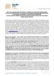 Gaspillage alimentaire - Barilla CFN
