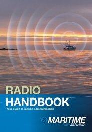 Radio handbook for coastal vessels - Maritime New Zealand