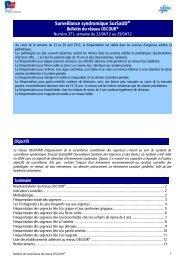 Surveillance syndromique SurSaUD® - COLMU