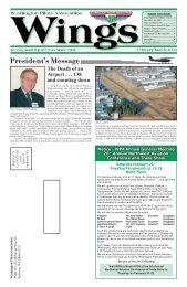 February/March 2009 - Washington Pilots Association