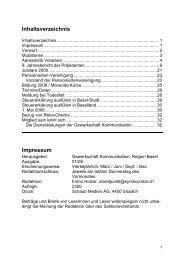 1. Mai 2008 - syndicom Region Basel