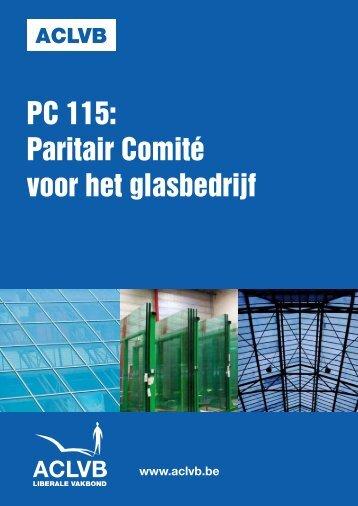 Paritair comité voor het glasbedrijf : cao-bundel - Aclvb