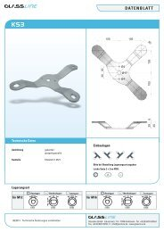 Datenblatt - Glassline GmbH