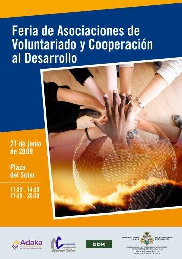 Feria de Asociaciones de Voluntariado y Cooperación al Desarrollo