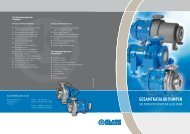 Magnetgekuppelte Kreiselpumpe SLM NV - Klaus Union