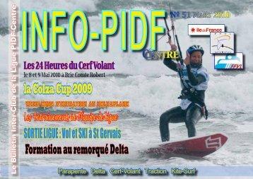 Info PIDF n°51 - Ligue Paris Ile de France de Vol Libre - FFVL