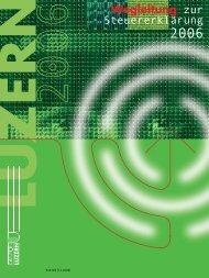2006 (4MB) - Steuern Luzern - Kanton Luzern