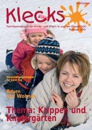Ausgabe Februar 2010 - Klecks