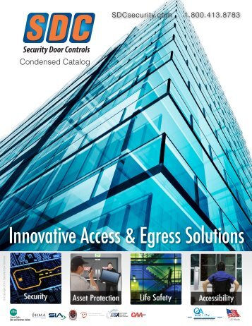 Condensed Brochure - SDC Security Door Controls