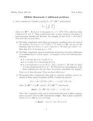 ee364 homework 7 solutions