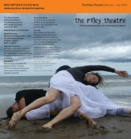 The Riley Theatre February – July 2009 BOX OFFICE 0113 219 ...
