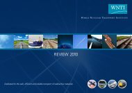 REVIEW 2010 - World Nuclear Transport Institute