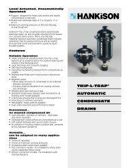 TRIP-L-TRAP® AUTOMATIC CONDENSATE DRAINS - InProcess