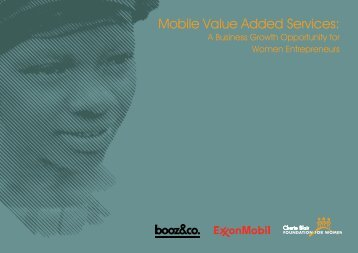 Mobile Value Added Services: - GSMA