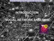 social capital - Analytic Technologies