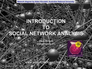social capital - Analytic Technologies