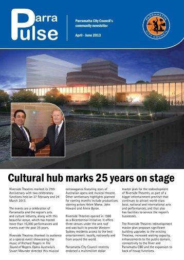 Parra Pulse April - June 2013 - Parramatta City Council