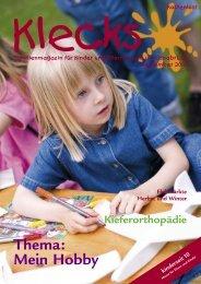 Ausgabe September 2010 - Klecks