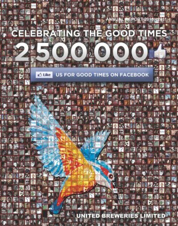 Annual Report 2010 - 2011 - United Breweries Limited