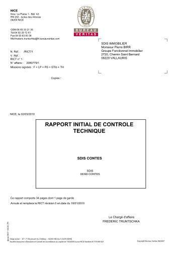 Rict magazines - Bureau de controle technique ...