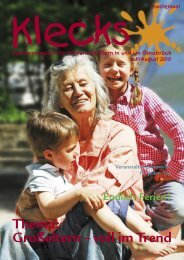 Ausgabe Juli/August 2010 - Klecks