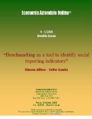 Benchmarking as a tool to identify social reporting indicators