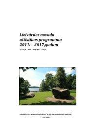 2. Daļa - Rīgas Plānošanas Reģions
