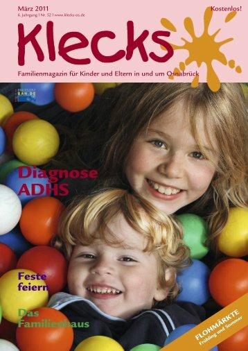 Diagnose ADHS - Klecks