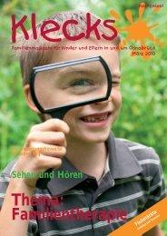 Thema: Familientherapie - Klecks