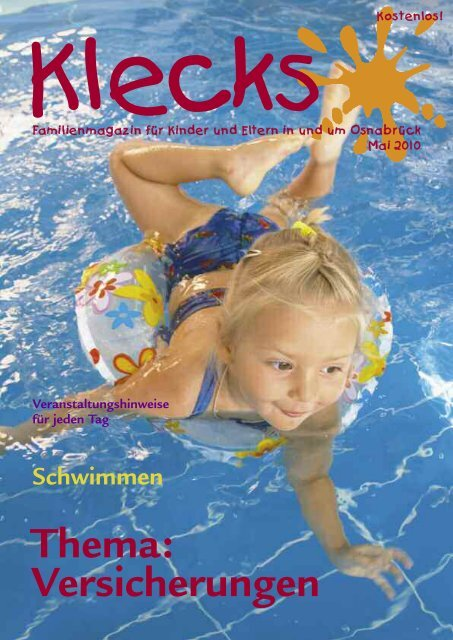 Ausgabe Mai 2010 - Klecks