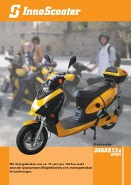 JAGAS12z SPORT - InnoScooter