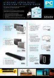 klicken um Sonos Flyer als PDF herunterzuladen… - PC Spezialist ...