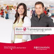 Flyer downloaden - Rossmann