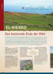 EL HIERRo - Erde und Wind