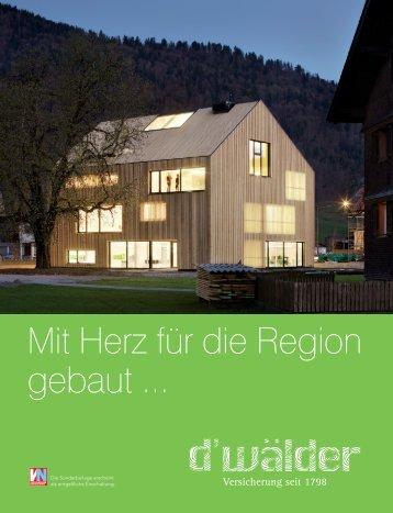 Wälder Versicherung Andelsbuch - Jürgen Haller