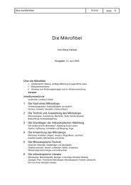 Die Mikrofibel - Naturkunde