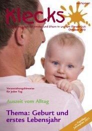 Ausgabe Oktober 2010 - Klecks