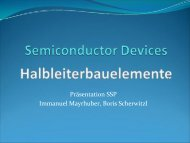 Präsentation SSP Immanuel Mayrhuber, Boris ... - lamp.tugraz.at