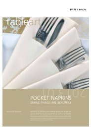 POCKET NAPKINS - prima