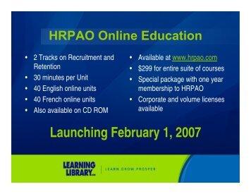 Launching February 1, 2007