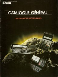 Casio 1988-1989 - epocalc