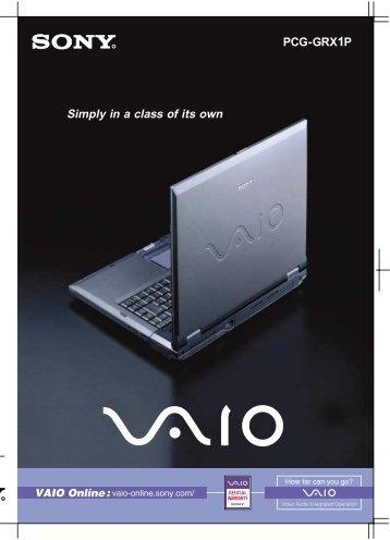 Sony Vaio VPCF13QFX/B Notebook Treiber Windows 10