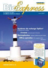 Systèmes de recharge TipOne® - Starlab