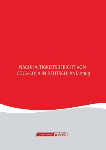 nachhaltigkeitsbericht von coca-cola in deutschland 2009 - Econsense