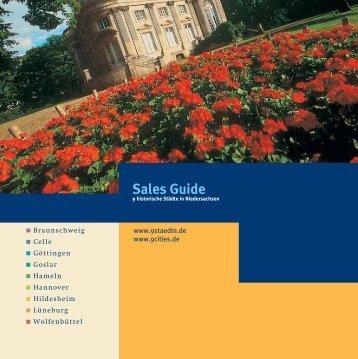 Sales Guide - die 9 Städte in Niedersachsen
