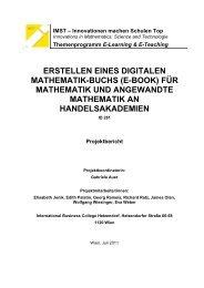 Endbericht - International Business College Hetzendorf