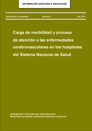 Carga de morbilidad y proceso de atención a las ECV en los ...