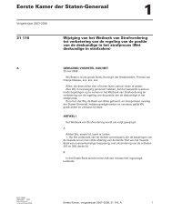 gewijzigd voorstel van wet - Eerste Kamer der Staten-Generaal