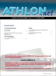 Athlon Net settembre 2009 - Fijlkam